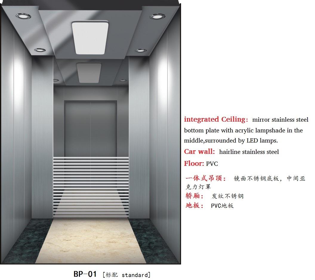 Passenger Elevator with Lift Machine Room