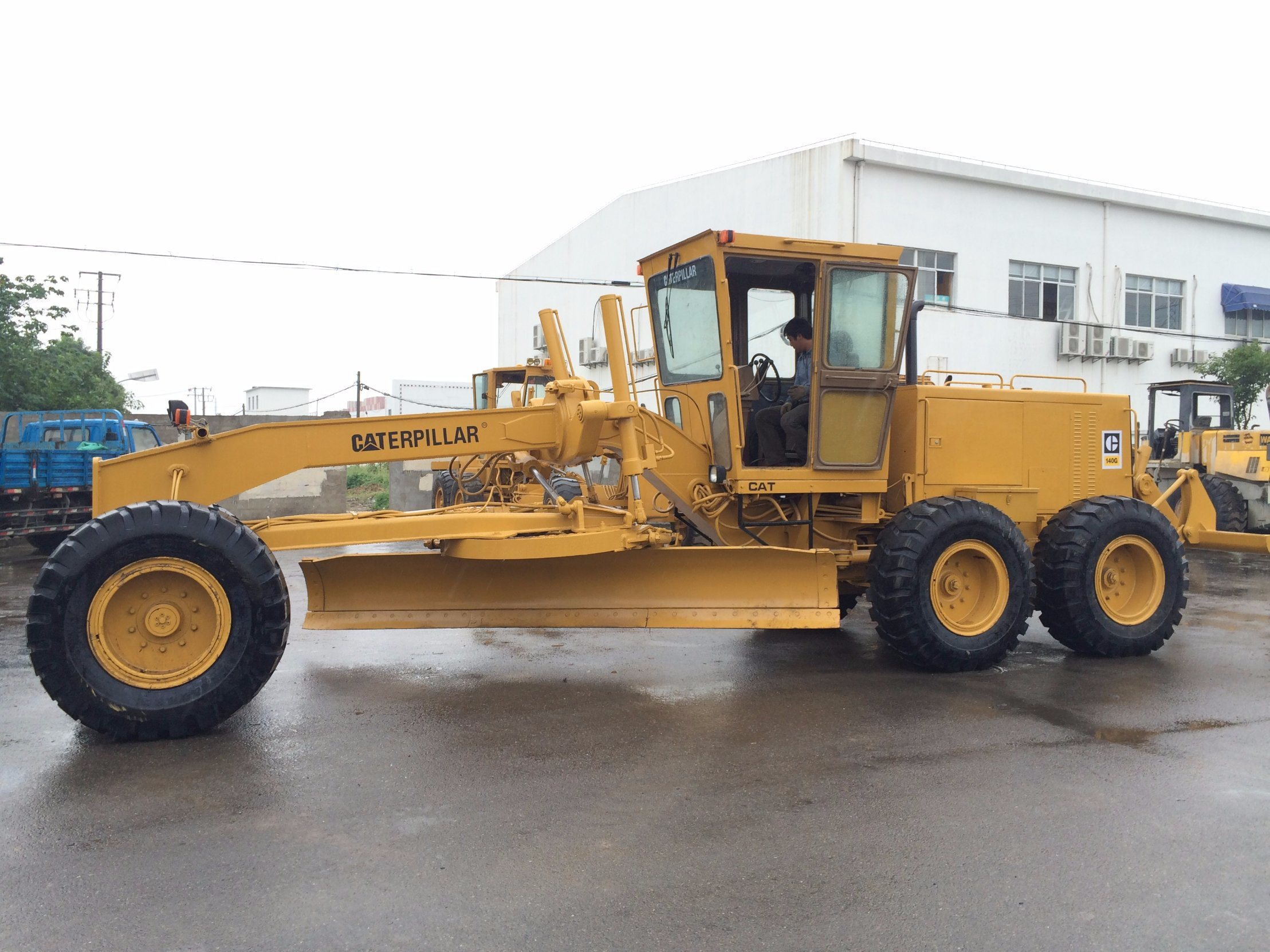 Used Caterpillar 140 Motor Grader Cat 140g Grader with Ripper