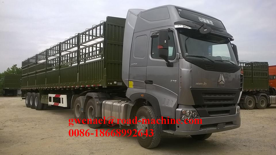 Sinotruck HOWO A7 10 Wheels 6X4, 375HP, Rhd/LHD, Euro III Tractor Head/Truck Head/ Horse/ Prime Mover/ Tractor Truck