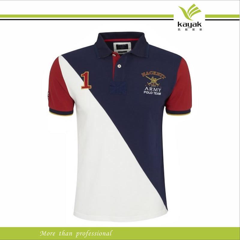 China Cvc Promotional Quality Men Polo Shirt Custom