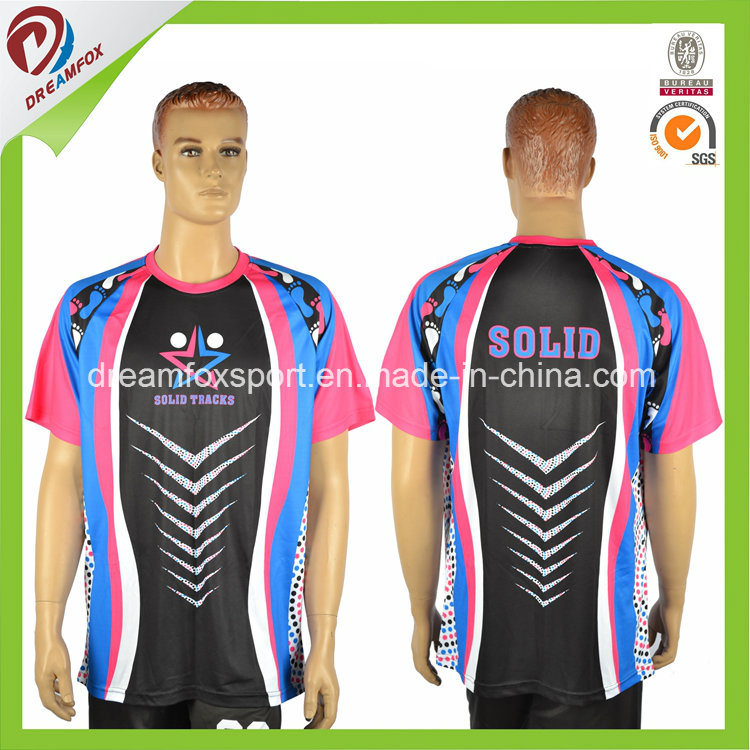 New Custom Digital Full Sublimated Men T-Shirt Design