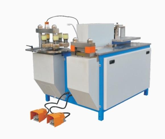 Copper Busbar Processing Bending Cutting Punching Machine Semi-Automatic Busbar Processing Machine
