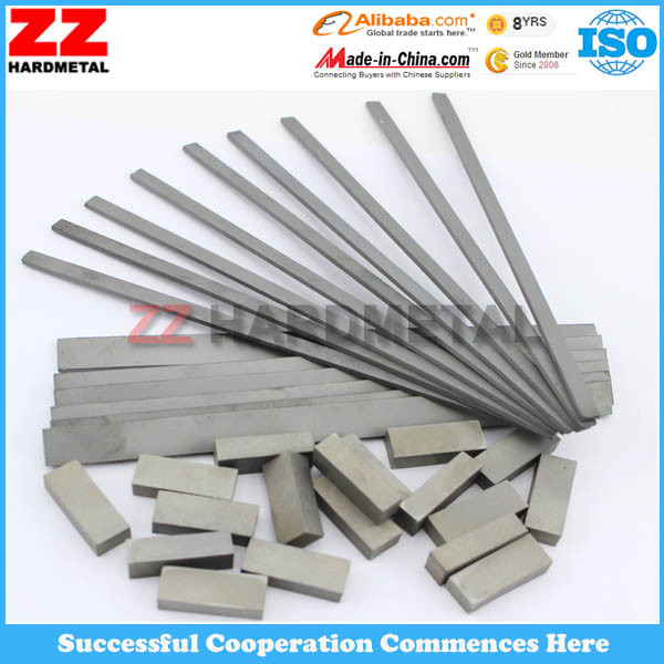 Tungsten Cemented Carbide Strips Flats for Cutting Tool