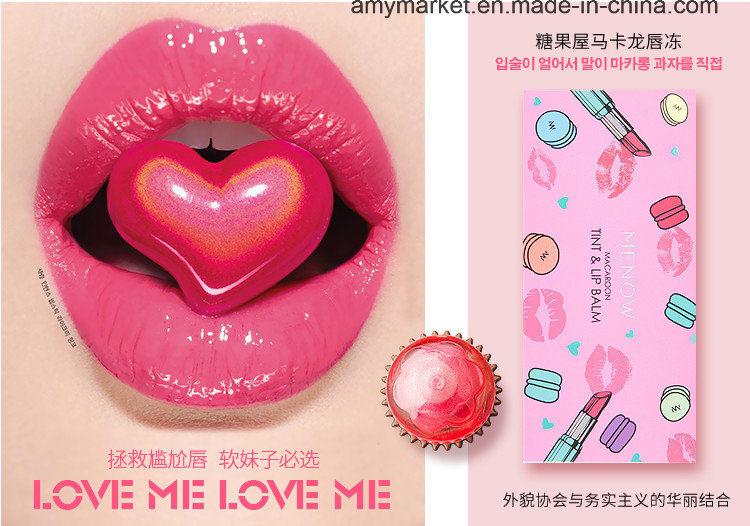 Menow Macaroon Tint Lip Balm Super Hydrating Cosmetics Lip Cream Lip Gloss Liquid Lip Stick