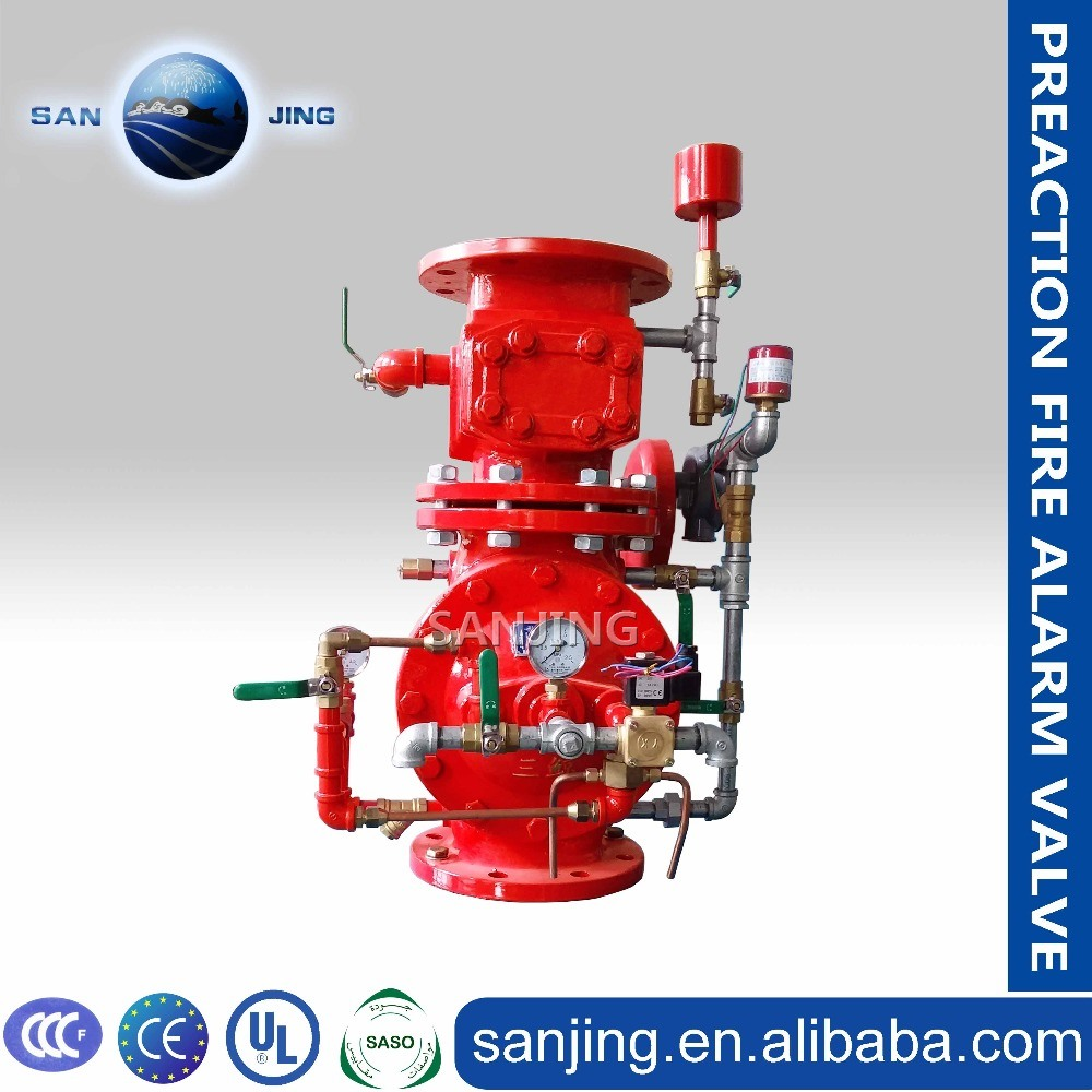 Top Quality Cast Iron Wet Alarm Valve
