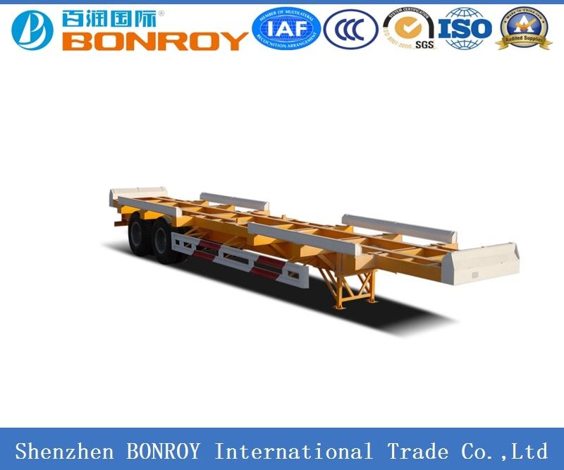 20FT 3 Axle Skeletal Container Semi-Trailer