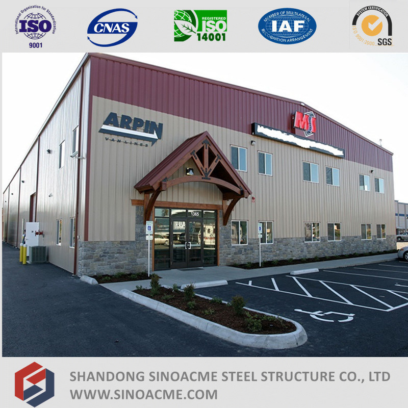 Sinoacme Metal Frame Storage Building with Administration Office
