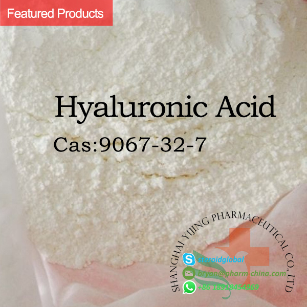 High Purity Dietary Supplement Cosmetic Grade 9004-61-9 Hyaluronic Acid