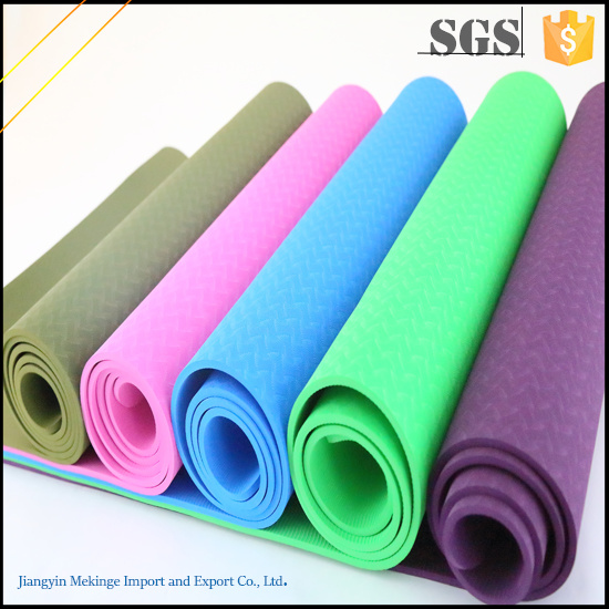 New Design Colorful Decorative Square Yoga Mat