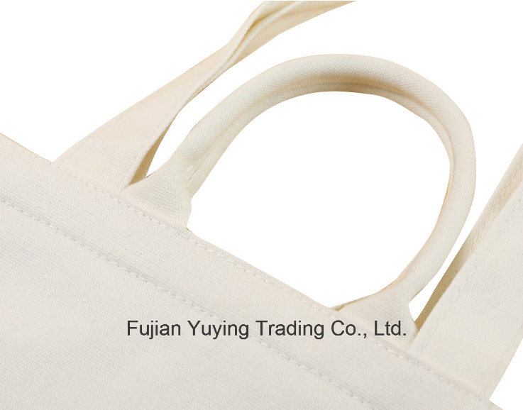 Customized Promotional Long Handle Cotton Bag