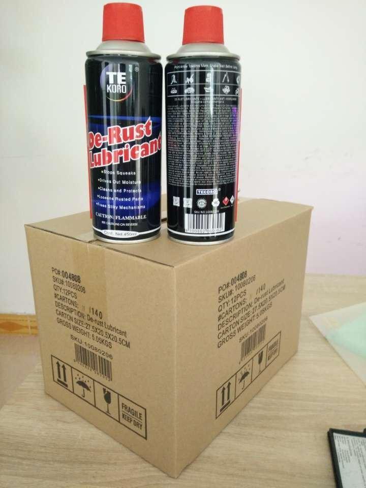 Multi Purpose Anti Rust Spray Lubricant /450ml