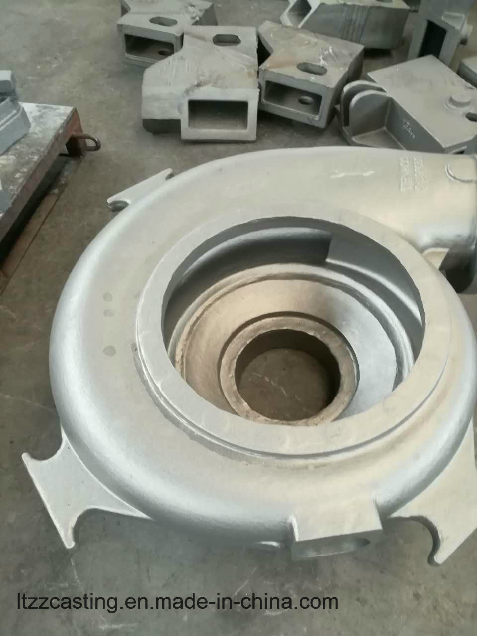 Pump Part Ss316 260kgs Steel Sand Casting