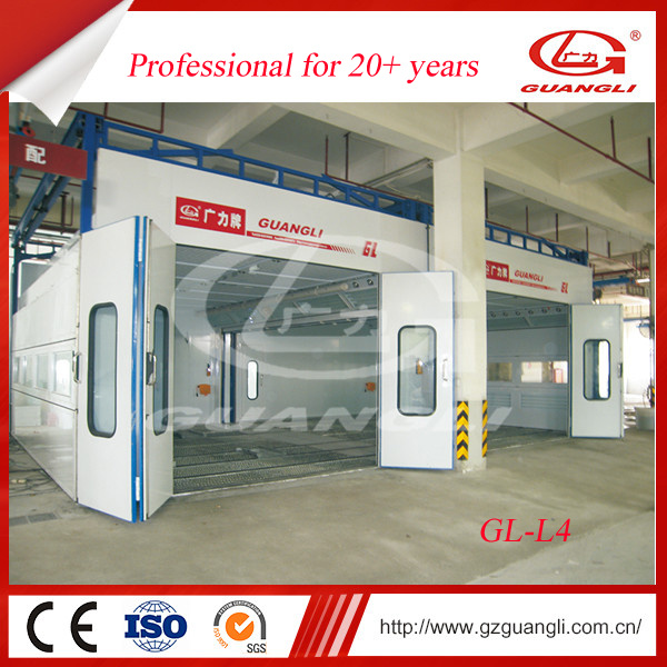 Ce Approved Guangli High Quality Hot Sell Powder Coating Equipment/Garage Equipment with Movable Jacks
