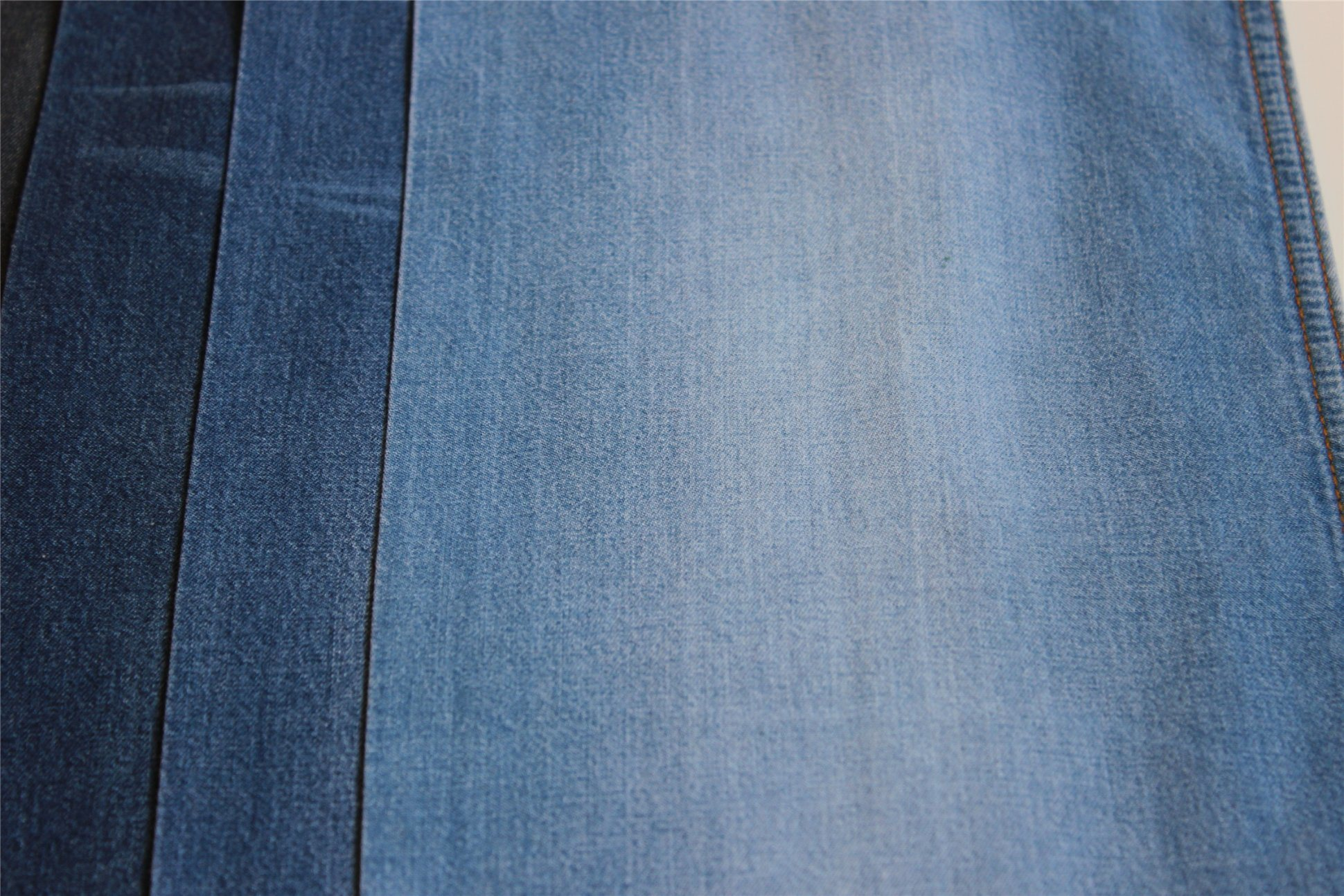 Tencel Cotton Denim Twill Indigo Denim For T-Shirt and Blouse Garments