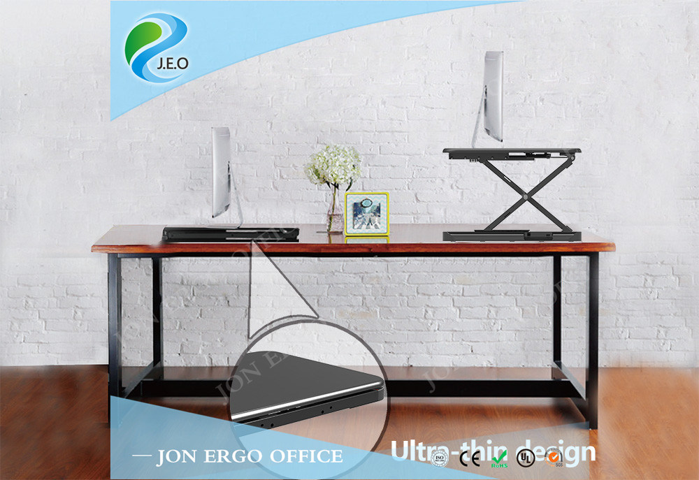 Morden and Thin Height Adjustable Stand up Desk