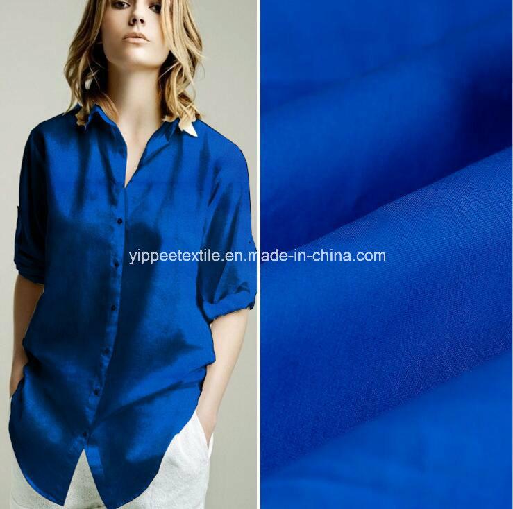 Yarn: 40sx40s Weight: 120G/M2 100% Cotton Poplin Shirt Fabric