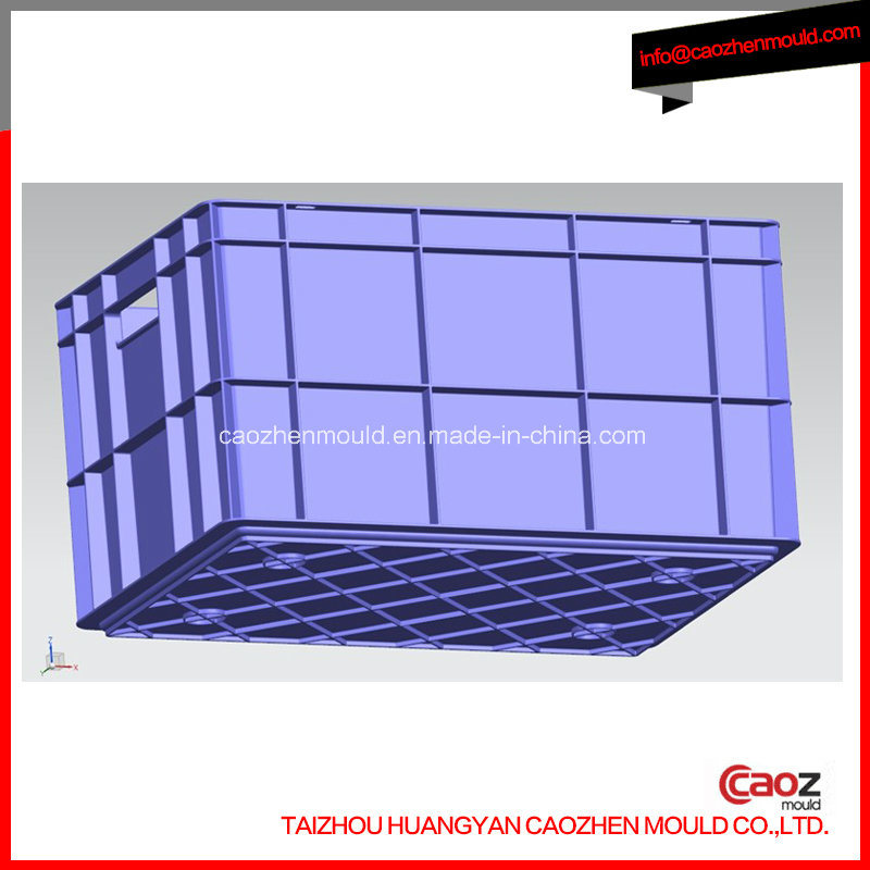 Plastic Injection Industrial/Multi Height Crate/Box Molding