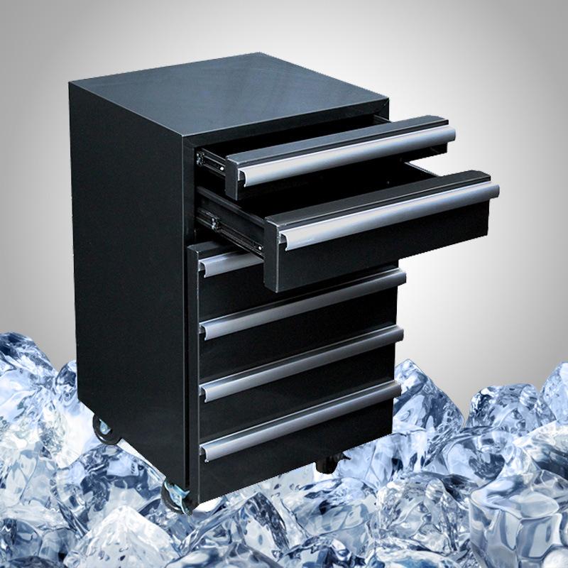 Garage Refrigerator Toolbox Fridge on 4 Wheels