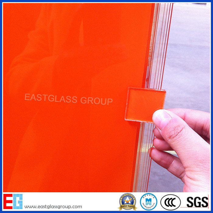 Glass Factory White/Milk White/Black/Grey/Coffee/Blue/Red/Pink/Bronze/Orangecustom Double Coated Paint Glass (Painted Glass)