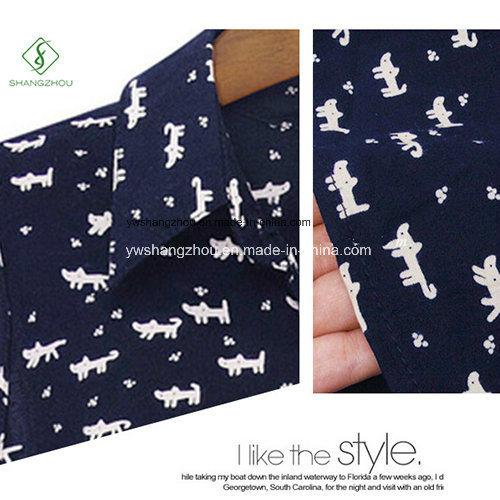 2017 Fashion New Women Cotton Shirt Collar Dress Casual Factory