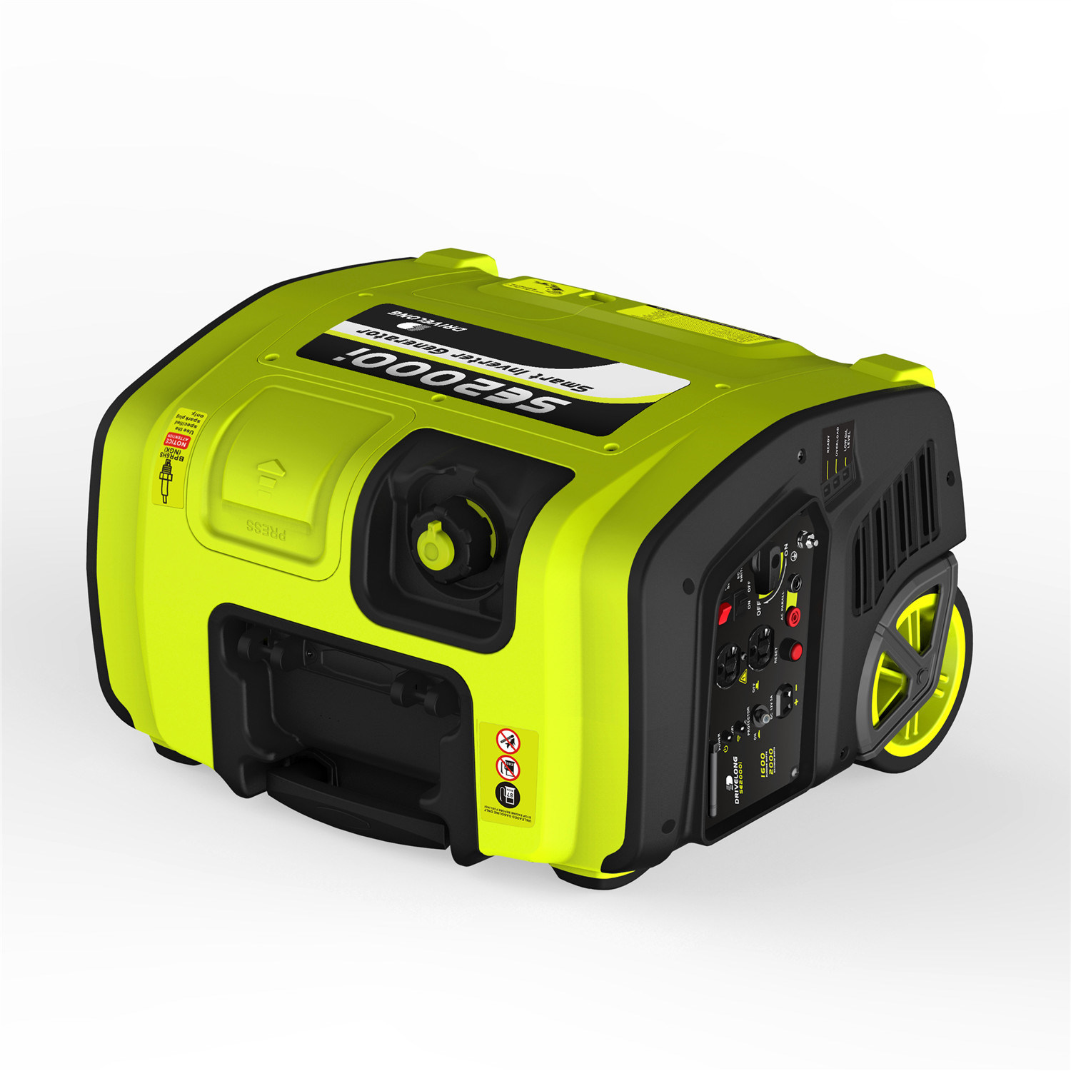 2kw Gasoline Portable Inverter Generator with GS/Ce/ETL/EPA/Carb/E13