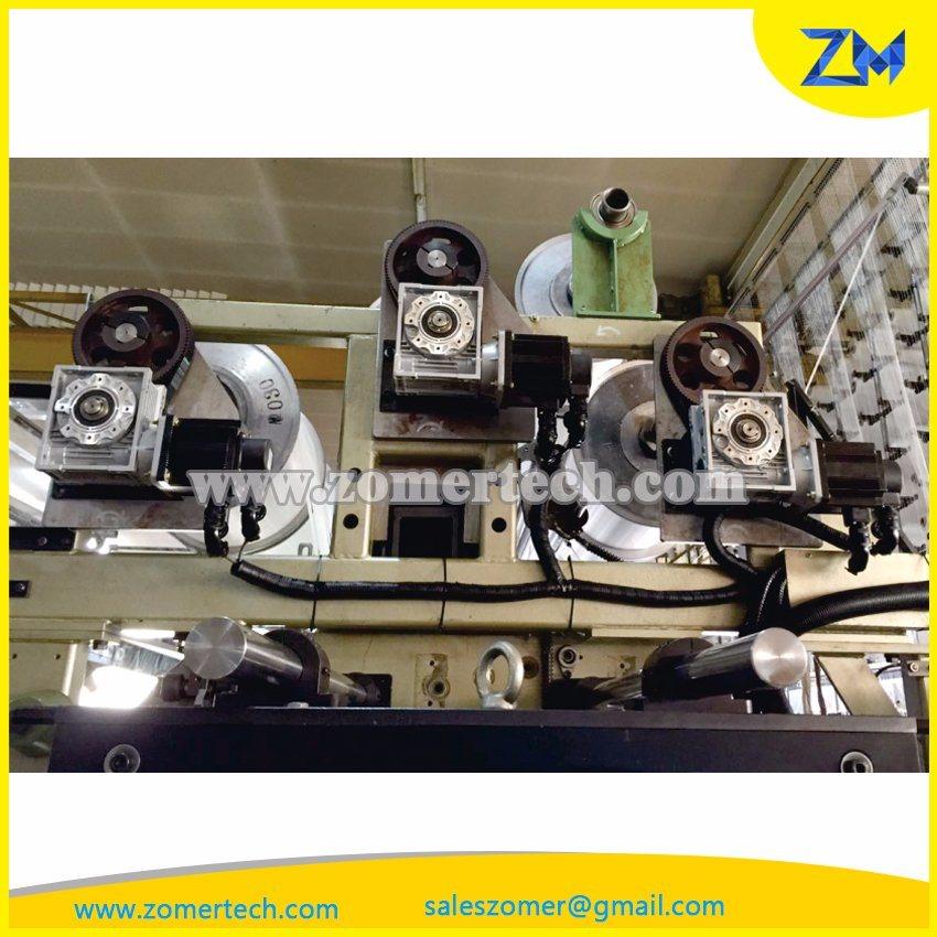 Electronic Let-of System in Warp Knitting Machine/Karl Mayer Machine