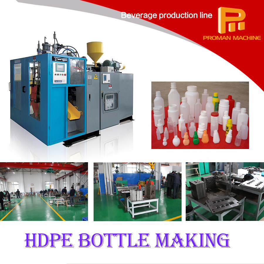 Plastic Extrusion Blow Molding Blowing Moulding Machine