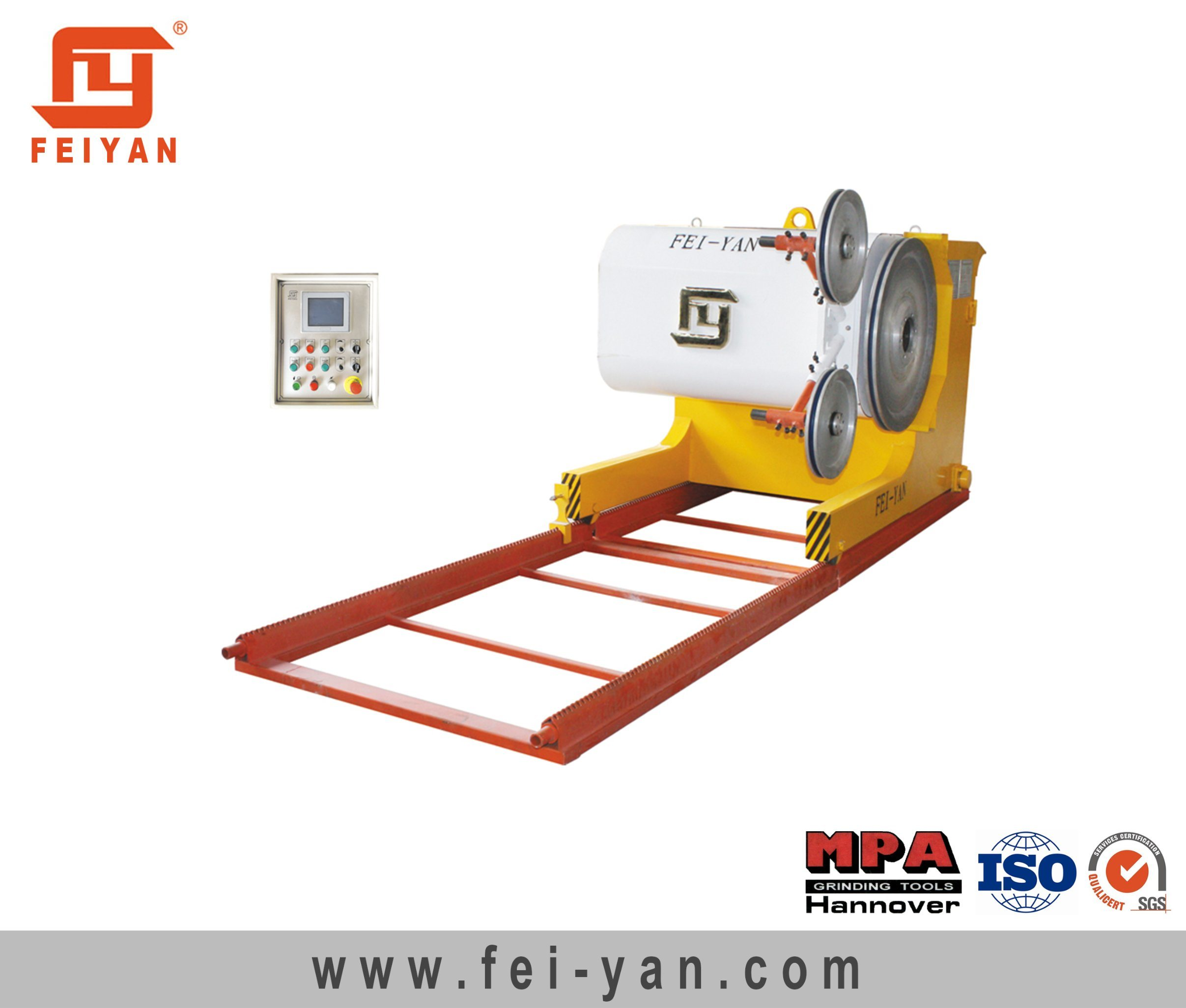 Diamond Wire Machine for Stone Quarry
