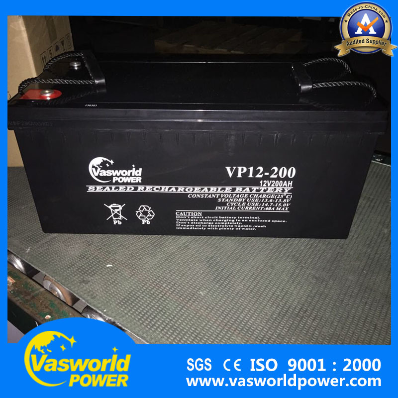 AGM Lead Acid Battery 12V200ah Rechargeable Power Battery 12V 200ah UPS Battery for Solar Battery
