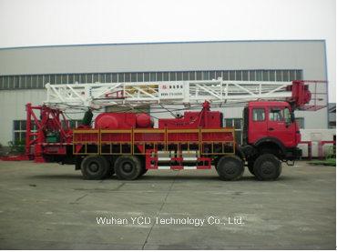 Xj250 Oilfield Workover Rig API Certification