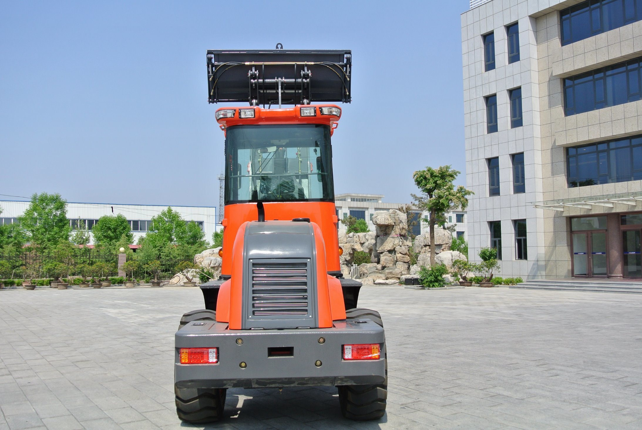 2 Tons Ce Low Price Multi-Function Wheel Loader Payloader