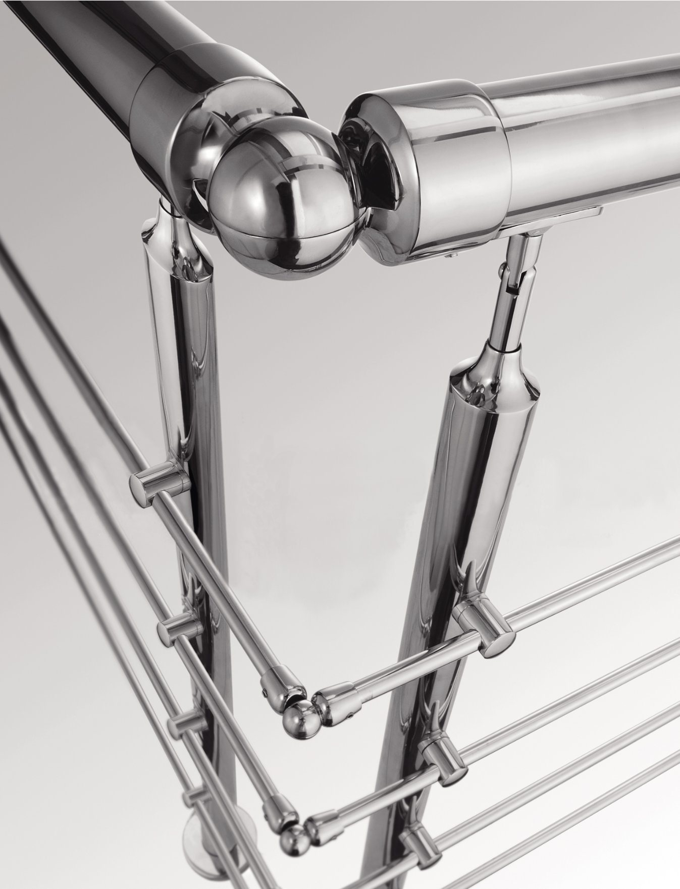 Stainless Handrail Fittings for Mirror Ball