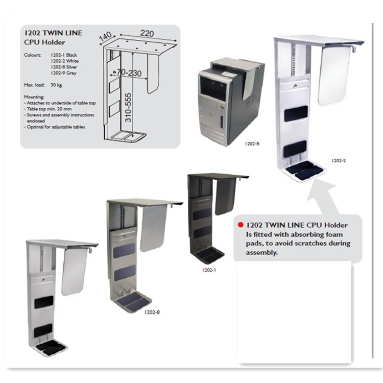 Metal Height Adjustable CPU Rack CPU Stand CPU Holder