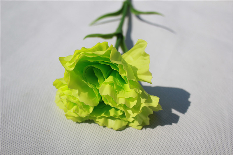 Plastic Natural Touch Artificial Flowers Carnation for Decoration