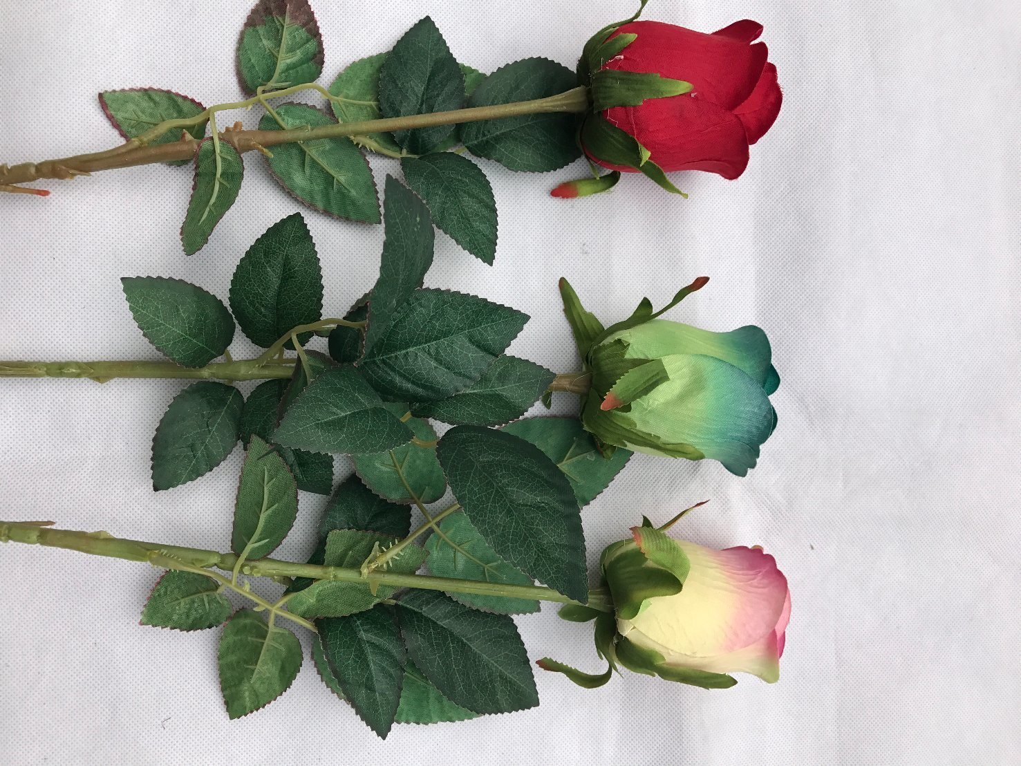 Artificial Real Touch Rose Flowers Decoration Fresh Rose Artificial Flowers Latex Roses for Wedding Bouquet Decoration