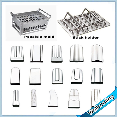 Large Production 10 Moulds Ice Lolly Maker