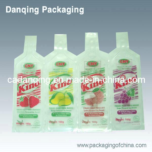 Plastic Double Gusset Milk Packaging Bag