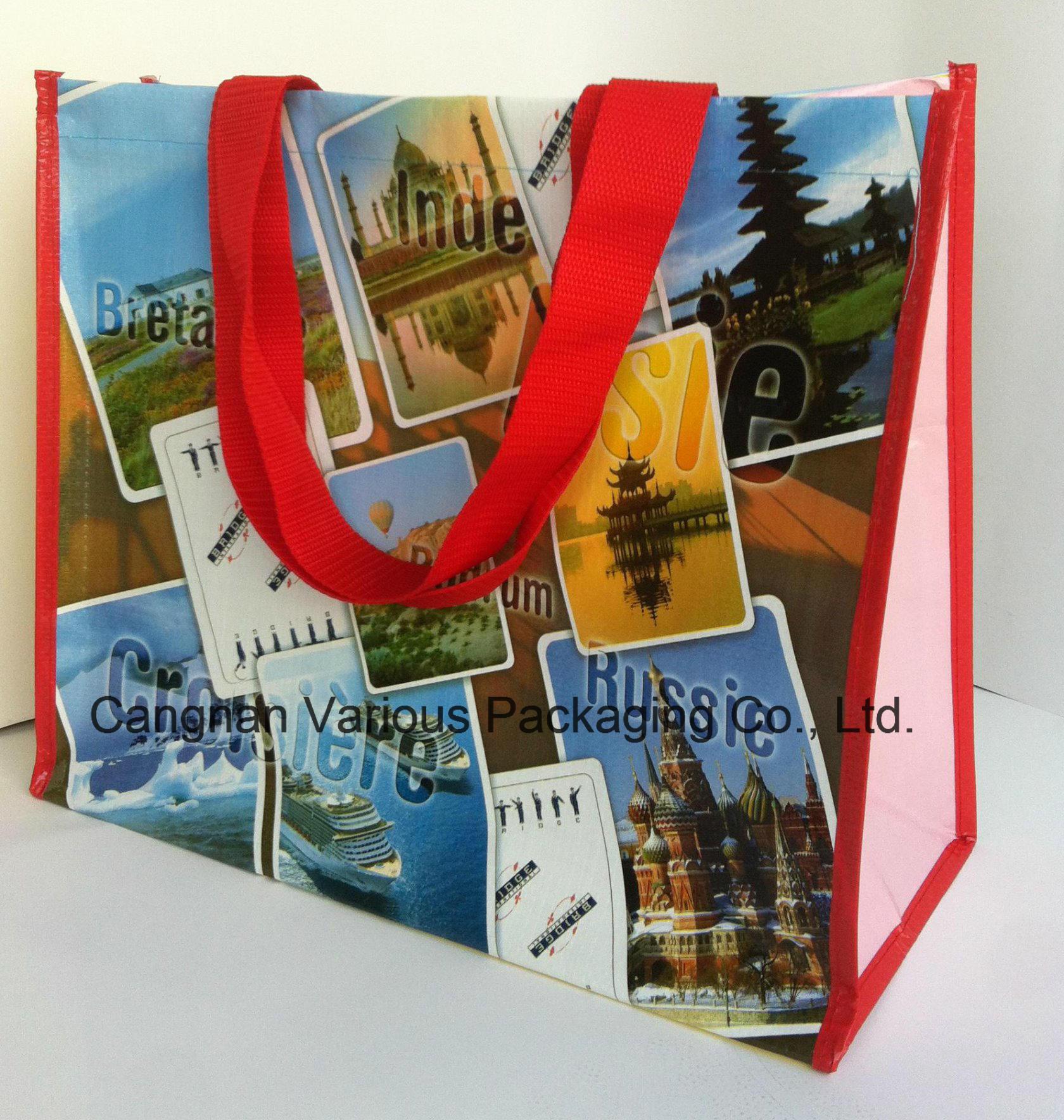 PP Woven Shopping Bag, Tote Bag