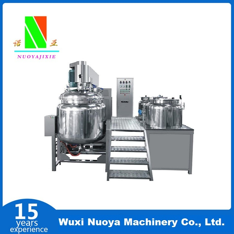 Vacuum Homogenizing Mixer and Emulsifier (ZJR350 ~ 500L)