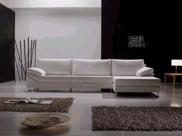 Best Selling Leisure Leather Sectional Sofa (L shape)