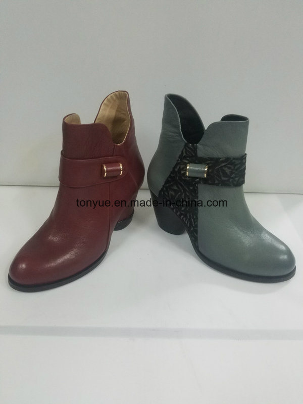 Lady Leather Brush Color Restoring Ancient Ways Is Short Boots