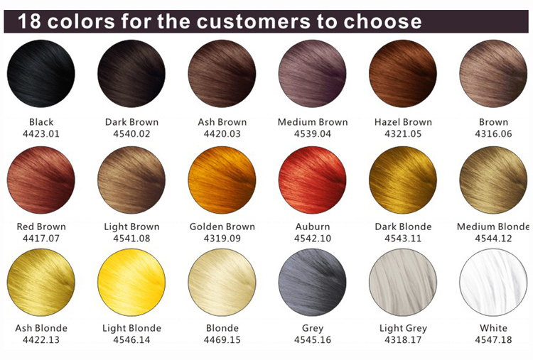China Hot Selling Products Patent 100% Natural Hair Building Fibers with 18 Colors OEM