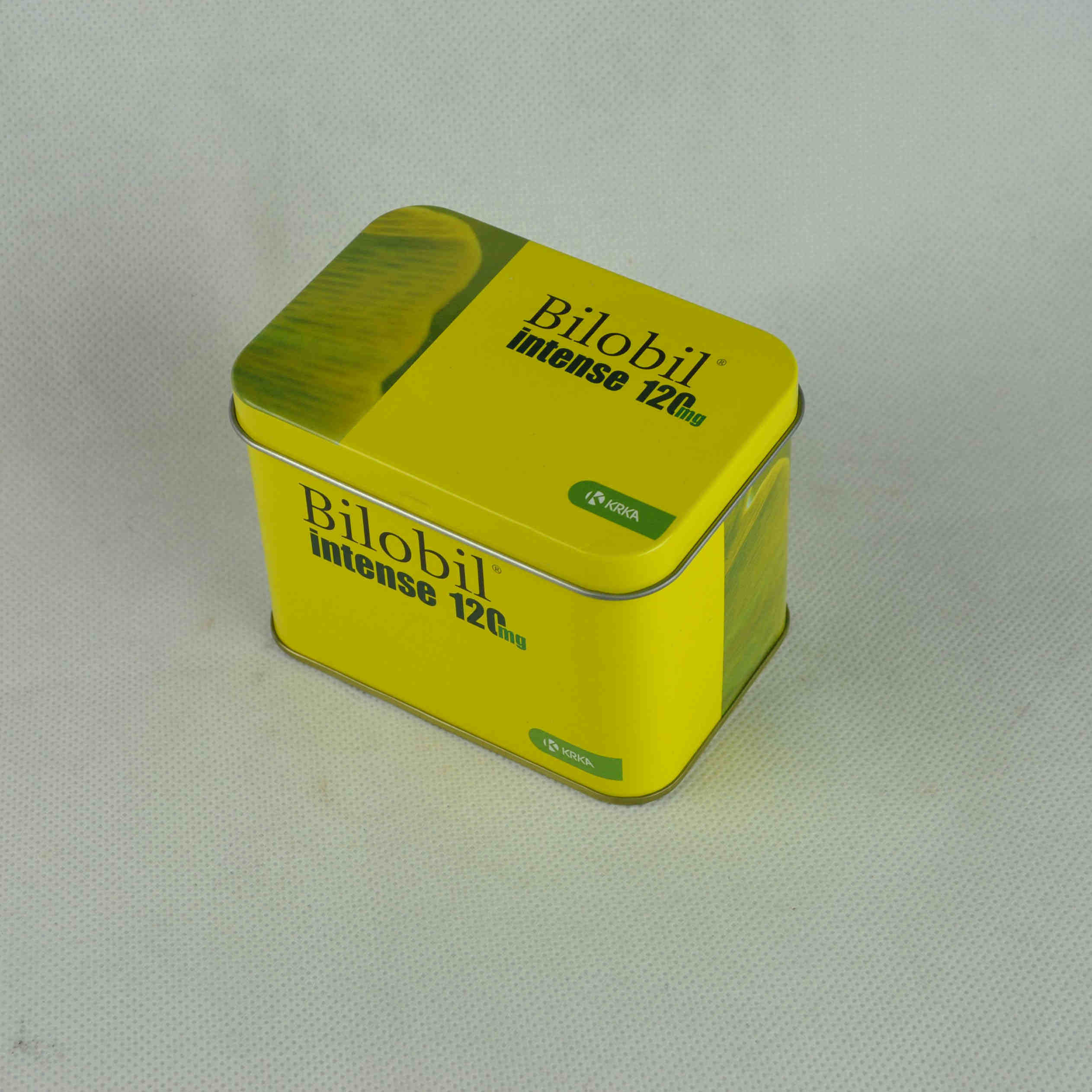 Cmyk Print Food Grade Tea Tin Box