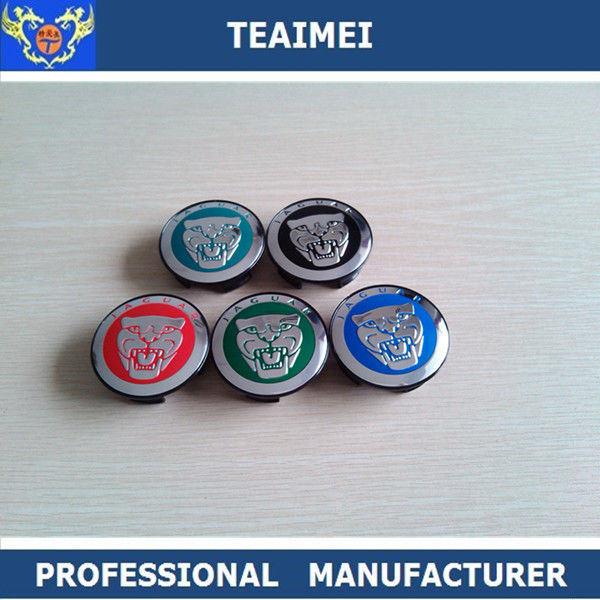 60mm Colorful Jaguar Car Logo Wheel Center Caps