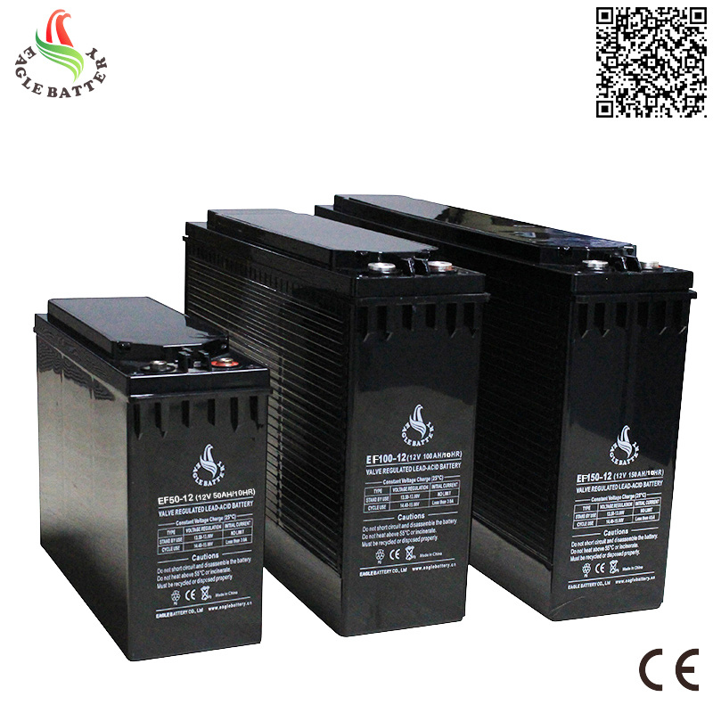 Front Terminal 12V 100ah Mf Lead Acid VRLA Rechargeable Battery