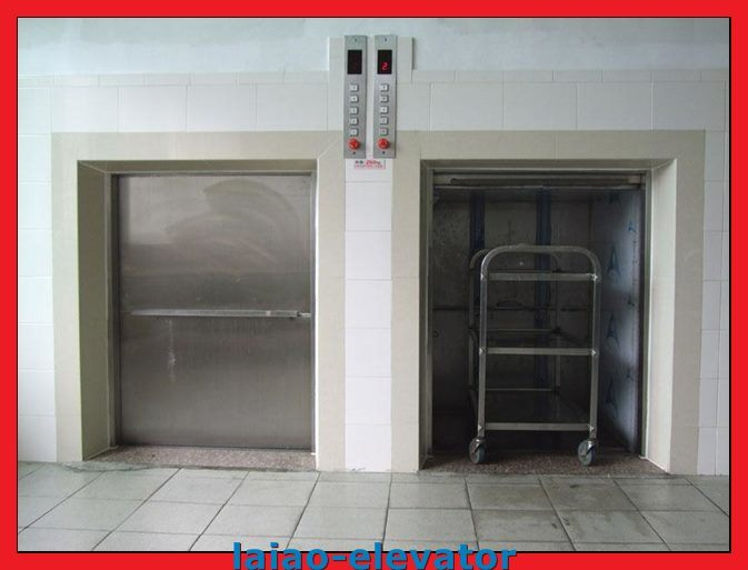 100kg-500kg Stainless Steel Food Elevator Umbwaiter Lift for Sale
