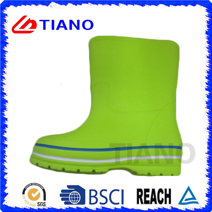2017 New Hot Colorful Comfortable EVA Rain Boots (TNK35592)