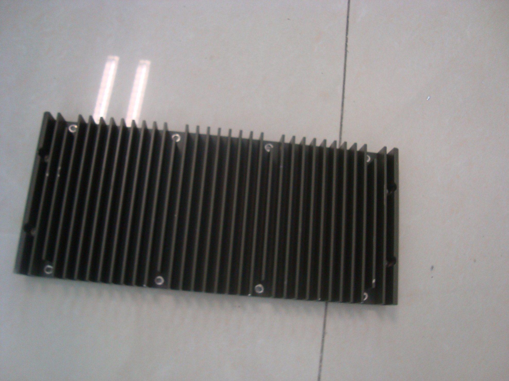 Aluminium Heat Sink for Vidio with Precise CNC Machining Jobs