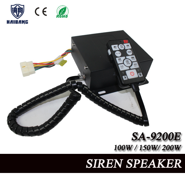 High Quality Police Siren Speaker in 100W/150W/200W (SA-9200E)