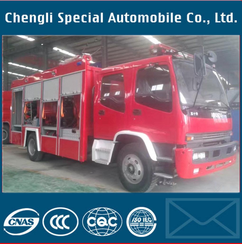 Isuzu 8t Fire Water Truck Foam Fire Fighting Truck